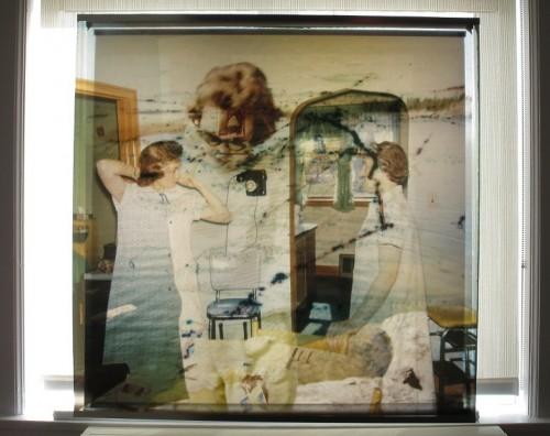 Katia Gosselin et Éric Lesage à la Maison des artistes visuels