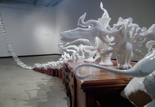 Shyra de Souza - Phantom limb à la Galerie du Nouvel-Ontario
